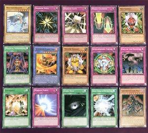 Yugioh Kartları Renk Kutu Paket İngilizce Sürüm 66 ADET / set Güçlü Hasar Masa Oyunları Koleksiyonu Kartları Oyuncak Çocuk oyuncakları toptan ZSS179