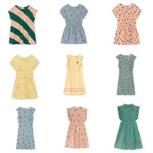 Bobozone 2019 New Bobo Dress For Kids Girls Abito estivo al ginocchio J190616