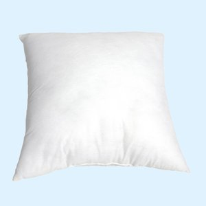 White Pillow Core Soft Non-woven Fabric Cotton Car Backrest Chair Seat Cushion Filling Pillow Core Square33