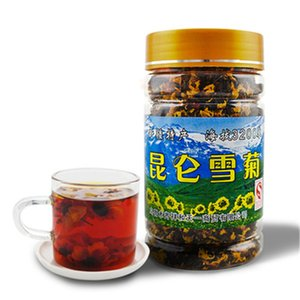 Net weight 45g Organic Kunlun mountain snow daisy chrysanthemum flower tea Herbal scented Green tea Green food Chinese Healthy Botanical Tea
