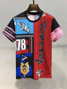 2020 лето мужская и женская 3D характер футболка Harajuku печати панк-рок футболка спорт и досуг растениеводство одежда