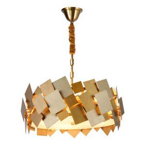 Luxury Modern Gold Chandelier For living Room Creative Design Hang Lighting Fixtures LED Home Lamps AC90-265V