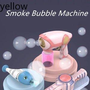Fumée BRUINE Bubble Auto Machine Gun Musique Mignon Savon automatique eau Blower extérieur jouets pour les enfants Filles Garçons Party cadeau Accueil # KDH