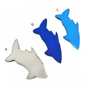 Shark Neoprene Popsicle Holder Koozies Fish Ice Pop Sleeves Freezer Blanks Kids Summer Birthday Party Favors