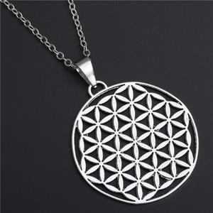 Sette collana di energia Chakra Yoga creativo geometria del modello Gioielli Strega Stregoneria Pentagram Choker dei pendenti delle collane del regalo delle donne