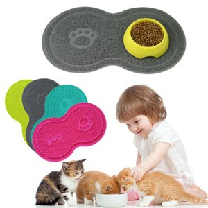 2019 New Pet Dog Cat Помет Mat Мат для кормления щенка Kitty Dish Чаша Placemat лоток Tidy Easy Cleaning Pad Sleeping Cat Claw Мат Hot