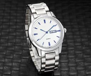 2020 New Longine Marke Drei Stiche Serie Dual-Kalender-Funktion hochwertige Luxus-Mode-Männer Uhren Herren-Uhr mit Stahlband