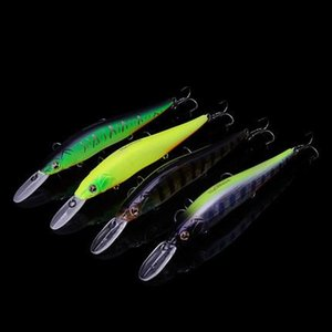 Tsurinoya 4Pcs Lot Dw50 Suspend Minnow 110Mm Jerk Bait 14.7G Ripbait Fishing Lure Artificial Fishing Bait Tackle Jig Fish Lures
