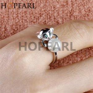 ring accessory cute monkey designs solid sterling silver creative hot animal ring findings for women girls