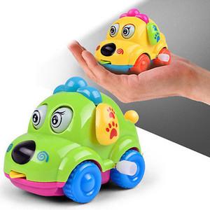 2019 New Cartoon Wind Up Toy Mini voiture bébé tout-petits enfants Clockwork Jouets d'apprentissage Jouet drôle cadeau