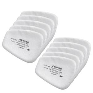 10/20/50 / 100pcs 5n11 filtro de algodão Respirador da pintura pistola de poeira à prova Anti -Particles para 6200/7502/6800 da máscara de gás Series