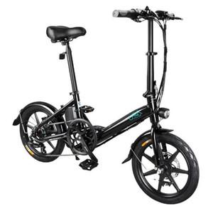 Magazzino in UE! Xiaomi Youpin FIIDO D3 / D3S Shifting versione 36V 7.8Ah 300W Bicicletta elettrica pieghevole 16 pollici bicicletta ciclomotore 25 kmh bici elettrica