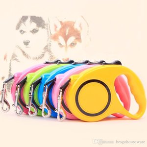Dog 3m 5m Portable Leash Belt Pet Automatic Retractable Traction Rope Magic Pet Dog Cat Puppy Leash Outdoor Walking Rope BH0285 TQQ