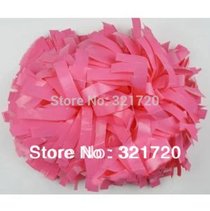 """6"""" PP Cheerleader pompoms ( 10 pieces lot) Cheerleading pompons Sports pompoms supplies Color can free combination Free shipping"""