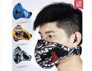 Tasarımcı-Iyi Sağlık Açık Bisiklet Yarım Yüz Maskesi Toz Rüzgar Geçirmez Anti Polen Alerji Aktif Karbon Maskeleri Filtre Spor Sürme Koşu