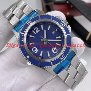 de luxe erkek 1884 Reverso izlemek montre Sıcak satış mekanik otomatik hareket A17367D81C1A1 mavi kadran Superocean saatı 46mm saatler
