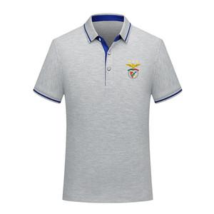 Benfica 2020 летняя мода хлопка футбол рубашки поло мужчин с коротким рукавом отворот поло футбол мужчин поло рубашки Джерси обучение Мужская Polos