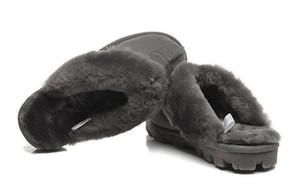Australian WGG classique chaud hommes coton pantoufles et femmes pantoufles en peau de vache Baotou Bottes neige Votton Dlippers 137