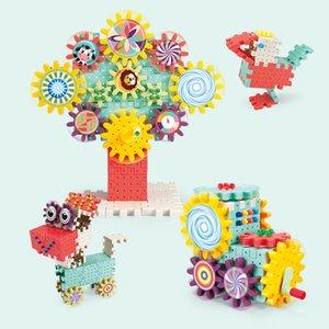 jouets pour enfants blocs rotatifs engrenages blocs de construction mushroom ongles childrens début éducation des jouets éducatifs