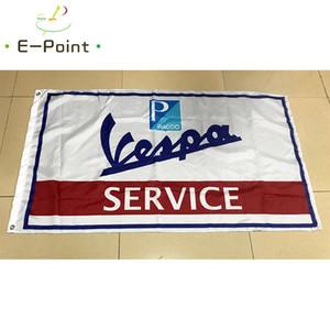 Motor Scooter Bandiera di Vespa 3 * 5ft (90 cm * 150 cm) bandiera poliestere bandiera decorazione volare casa giardino bandiera regali festivi