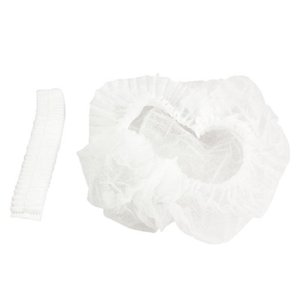 DHL Free Disposable Hat Anti Dust Non-Woven Head Cover Hair Protective Disposable Shower Caps Salon Beauty Accessories