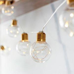10 Bulbs Led Festoon Party Lights Garland String Fairy Lights For Wedding Events Lights Garden Party Bar Bistro Lighting Decor