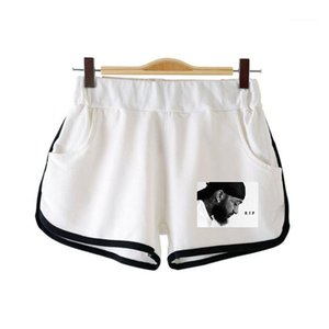 Садитесь Мужчины Сыпучие Упругие талии шорты Пара Одежда Рэпер Nipsey Hussle Печать женщин Lightweight Короткие Hip