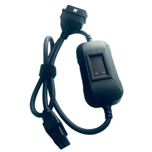 New 12V To 24V Heavy Duty Truck Diesel Adapter OBD2 Cable For Launch X431 Easydiag 2.0 3.0 Golo Carcare In Stock