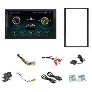 Double Din Android 8.1 Universal Car Multimedia MP5 Player GPS Navigation 7 Inch HD Press Sn 2 Din Built in WiFi Car Stereo