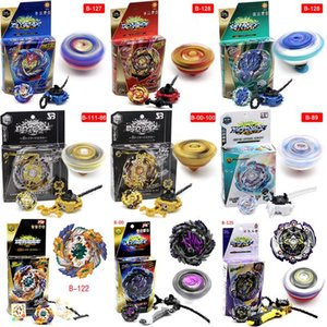 TOP 4D spinning Beyblade Burst With Launcher Kids Boys Toy Starter Zeno Excalibur .M.I (Xeno Xcalibur) Bables Toys B113 B00 B86 B100 B111