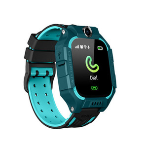 Q19 Kinder Kinder Smart Watch LBS Positionierung lacation Tracker SOS Smart-Armband mit Kamera Taschenlampe Smart-Armbanduhr für Babysicherheit