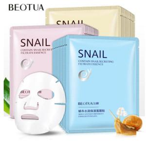BEOTUA Snail Белая маска для лица Snail секреция Фильтрата Moisturek Carrian Фильтрата Секреция Уход за кожей акне маска для лица Moisture