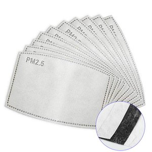 In Stock! PM2.5 Mask Activated Carbon Filter Face Mask Breathing Insert Protective Mouth Replaceable Anti Haze Filter Paper NEW