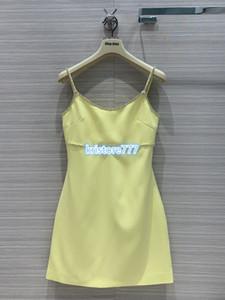 2020 женщины Роскошные девушки Дизайн Краткая Faille Кэди бретели A-Line платье рубашка с Rhinestone Sling платье высокого класса пользовательских взлетно-посадочной полосы Мини платье
