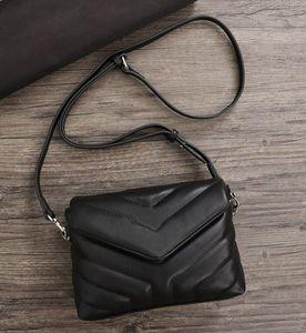 2019 venda mulheres bolsas sacos de ombro de luxo crossbody messenger cadeia saco de bolsas de boa qualidade de couro reais bolsa de Senhoras com rebite
