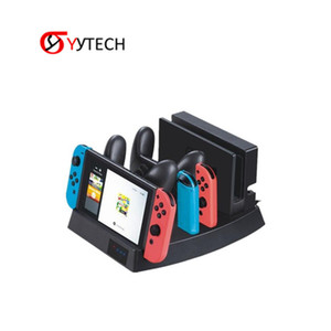 SYYTECH 2019 Multifunktionale Ladestation Dock Konsole Joy-con Docking Stand Dock Charger für Nintendo Switch NS