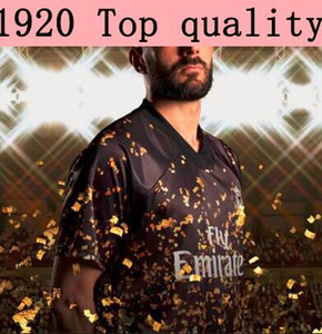 2020 Real Madrid Limited Edition футбол Джерси черных 19/20 # 7 ОПАСНОСТИ # 10 Модрича Реал специальной версии футбольных футболок