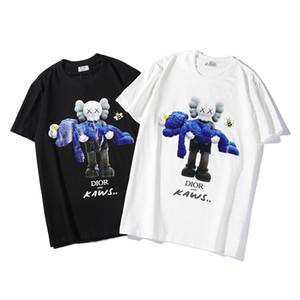 Harf kadın için baskı 2019 Tasarımcılar Yaz Erkekler T Shirt Kafa lüks Harf Tişörtlü Erkek Giyim Kısa Kollu Tişört Kadınlar Tops