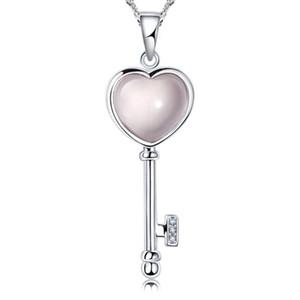 grand collier opale pour les femmes bijoux de luxe déclaration Vintage plaqué bijoux en argent cuivre zircon strass breloques pendentifs colliers