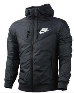Mujer Hombre Jogging trajes NIKE Sport NWT Sport chaqueta con capucha cortaviento transpirable y cálido BLK gran deporte Windbreaker.