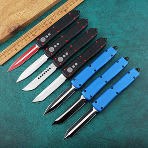 Single Action MT Knife Double Action Tactical Mini Knife High-Tech Carbide Crusher Pocket Knife Aluminum Handle EDC Tool