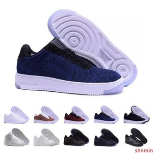 Cheap Sale Low High One Mens Women Shoes High Quality Triple White Black Gray One 1 Sneakers Running Designer Shoe 36-45