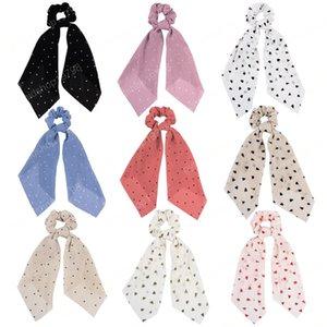 Rope nuovo DIY Turban donne Nastro per capelli Streamers Scrunchie ragazze del nastro nappe dei capelli elastici Equiseto Tie Headwear Accessori per capelli