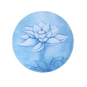 Mandala Meditasyon Ped Doğal Kauçuk Dairesel Renk Mix Yoga Mat Baskı Kaymaz Taşınabilir Zazen Halıları Oturmak 25jg E1