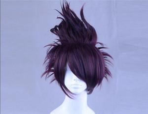 Détails sur Danganronpa V3 Momota Kaito cosplay perruques hommes Super Cool Cheveux courts postiche