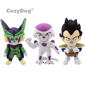 Cartoon Anime Action Toy Figures Vegeta Anime Dragon Ball jouet en peluche japonais Cartoon Freezer Poupées Dragon Ball Z Figure 26-30 cm