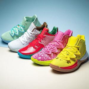Pineapple House 5 Zapatos Kyrie PE Chaussures de basket hommes pour les 20 ans Irving Graffiti x Sneakers éponge sport multi-couleur 12