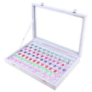 Color Board Chart Nail Art Salon مانيكير أدوات الأظافر مع الحرة 105 نصائح الأظافر المهنية الأظافر جل البولندية عرض بطاقة كتاب