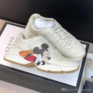 la manera de lujo de tamaño 2020 zapatos deportivos nuevos hombres de impresión clásica de baloncesto zapatillas de deporte casuales zapatillas de deporte al aire libre de las mujeres 35-45