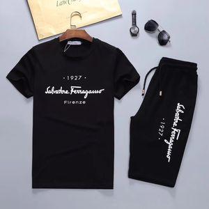19ss new short-sleeved brand designer letter printed running suit sportswear track suit suit men's jacket jacket casual sportswear